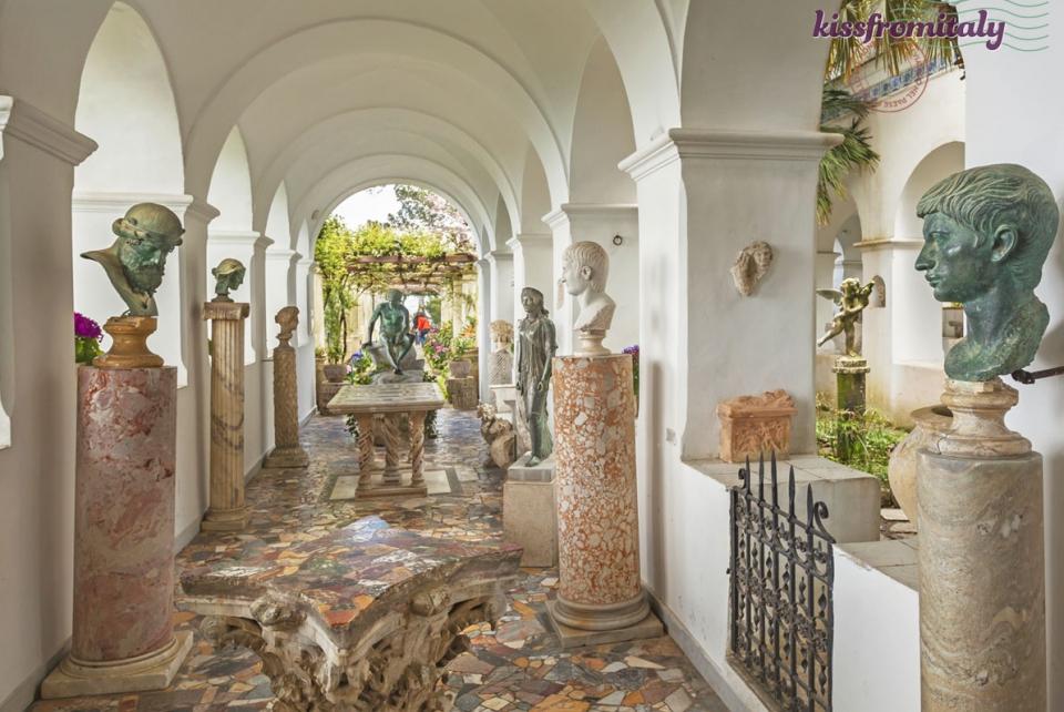 Capri S Garden Of Eden Villa San Michele Kissfromitaly