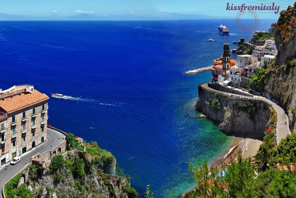 Amalfi Coast Shore Excursion From Naples  KissFromItaly  Italy Tours